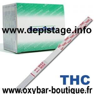 DEPISTAGE DU CANNABIS by OXYBAR®