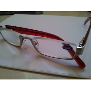 "Paire de lunettes ""CONFORT by OXYBAR®"" (+4 dioptries)"